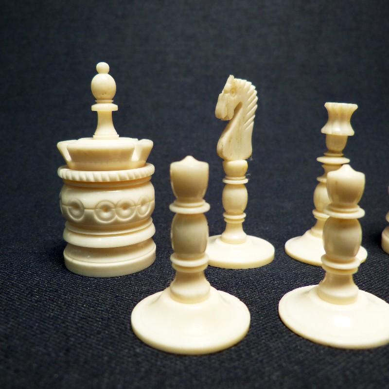 Schach Rot-weiß Bein11