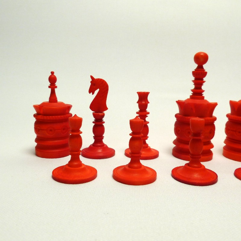 Schach Rot-weiß Bein13
