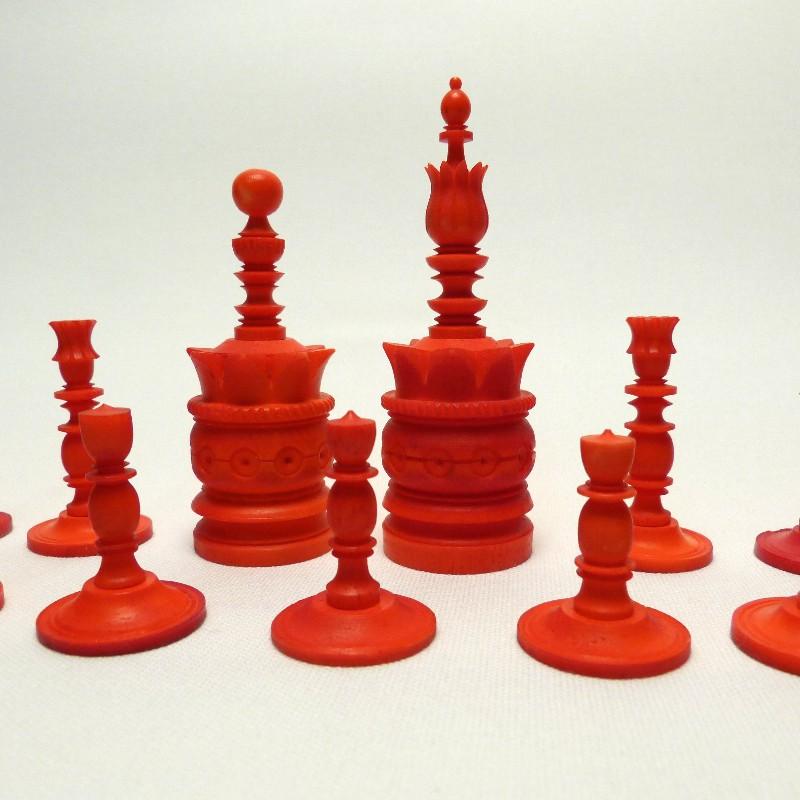 Schach Rot-weiß Bein14