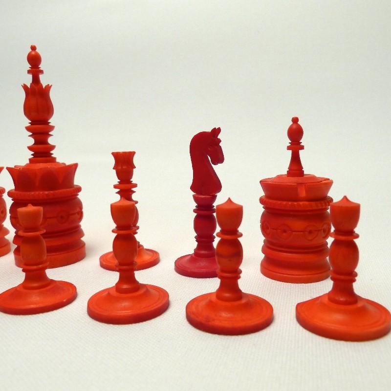 Schach Rot-weiß Bein15