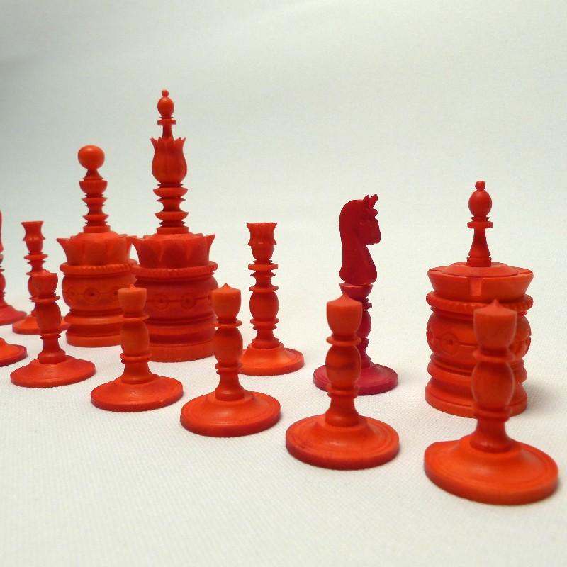 Schach Rot-weiß Bein16