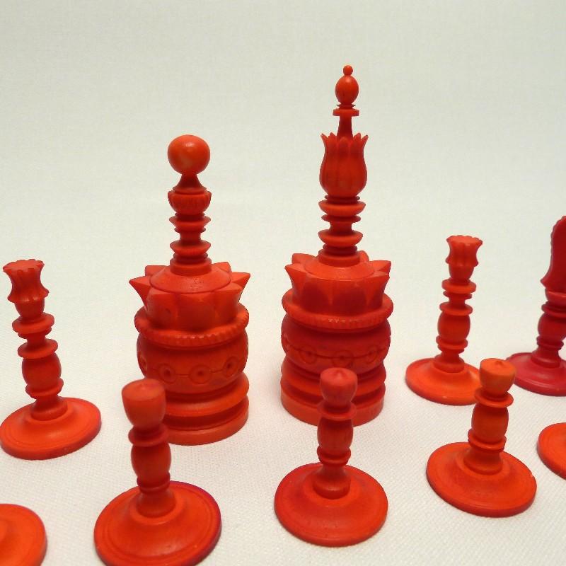 Schach Rot-weiß Bein17