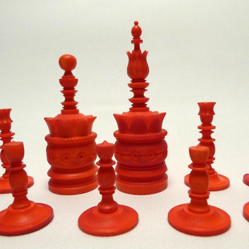Schach Rot-weiß Bein18