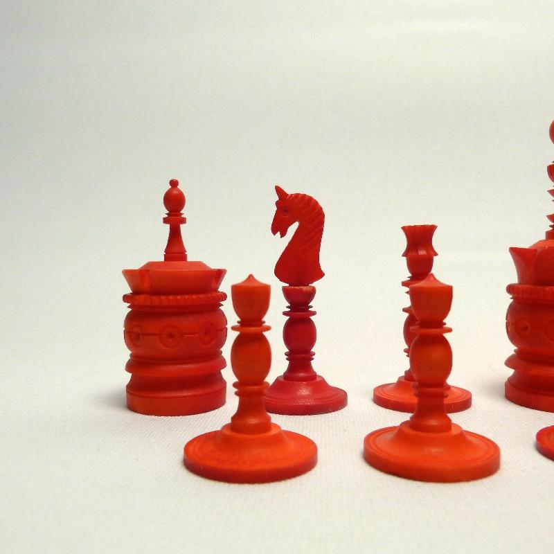 Schach Rot-weiß Bein22