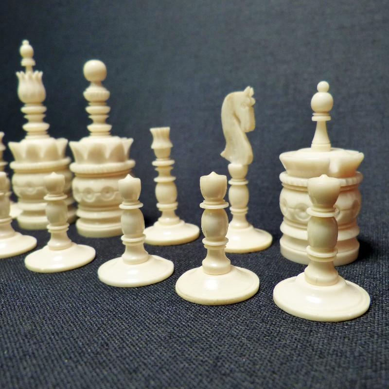 Schach Rot-weiß Bein4