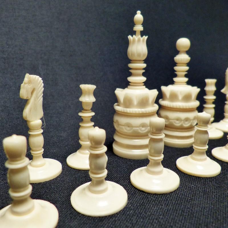 Schach Rot-weiß Bein7