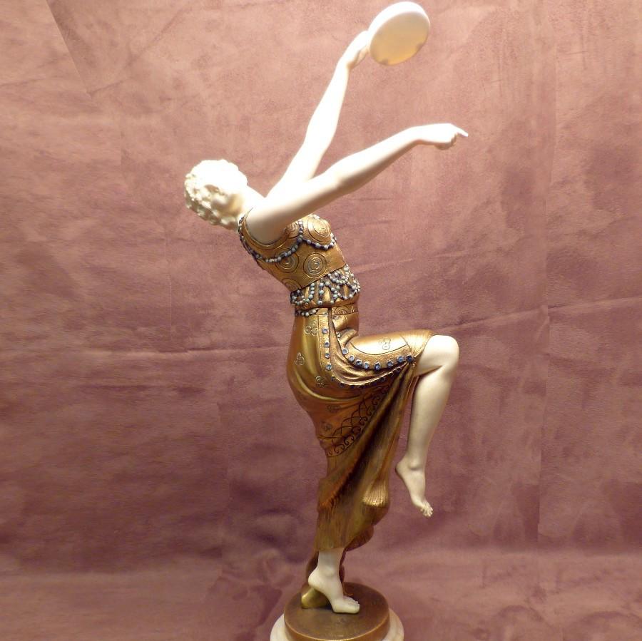 Tänzerin Art Deco komplett