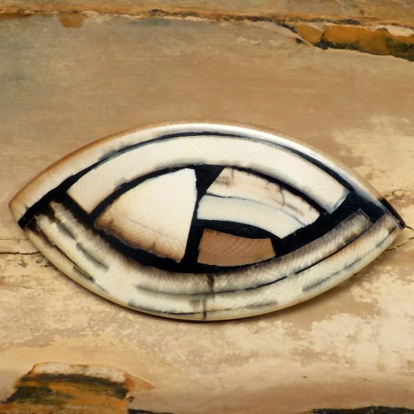 Mosaik-Broschen
